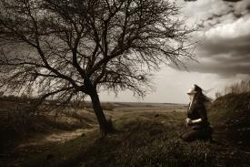 woman_praying_stormysky_trees